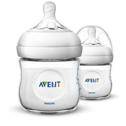 Avent Natural Bottle 4oz/125ml Twin Pack