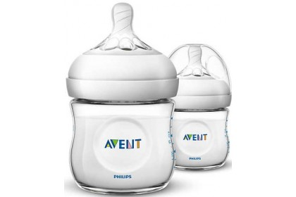 Avent Natural Bottle 4oz/125ml Twin Pack ~ (ETA 21 OCT)
