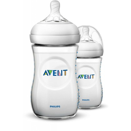 Avent Natural Bottle 9oz/260ml Twin Pack