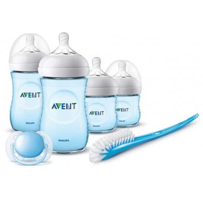 Made in UK - Avent Natural Newborn Blue Starter Set