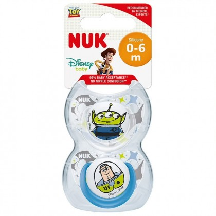 NUK Toy Story (0-6) months Soothers