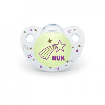 NUK Night and Day Glow in Dark (0-6) months Soothers