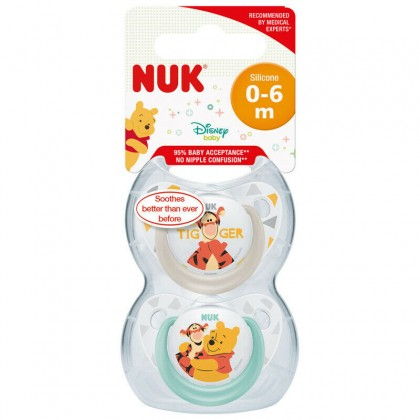 NUK Disney (0-6) months Soothers