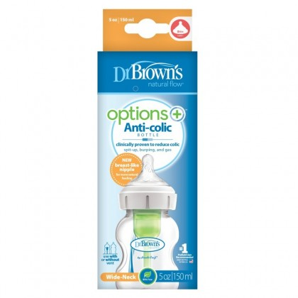 Dr Brown's Options+ 150ml Anti-colic Bottle