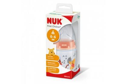 NUK First Choice+ Disney Winnie The Pooh 150ml Bottle (Unisex Random Design)
