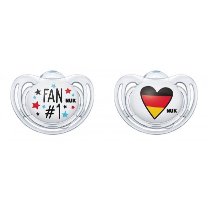 NUK Germany Football Edition Soothers (2 Sizes)
