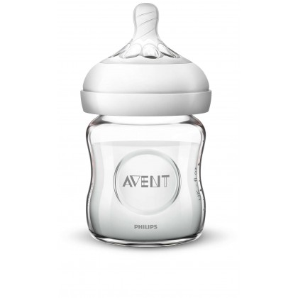Avent Natural Glass Bottle 4oz