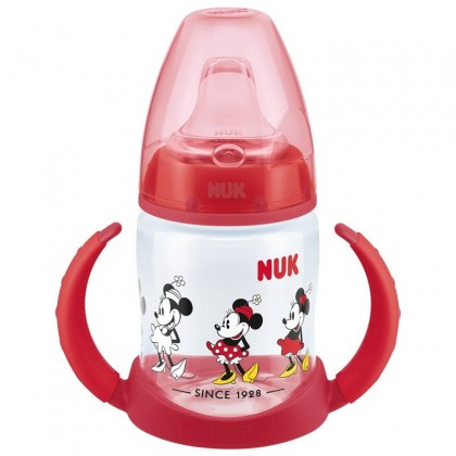 NUK First Choice Disney Minnie Mouse Red Learner Bottle 150ml