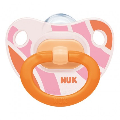 NUK Happy Days Pink (6-18 Month) Soother Twin Pack