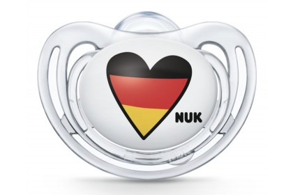 NUK Germany Football Edition (6-18 Month) Soother Twin Pack