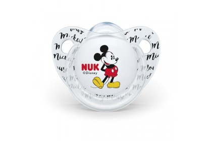 NUK Disney Mickey Mouse (0-6 Month) Soother Twin Pack