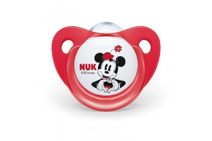 NUK Disney Minnie Mouse (0-6 Month) Soother Twin Pack