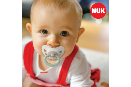 NUK Signature Pink (0-6 Month) Soother Twin Pack