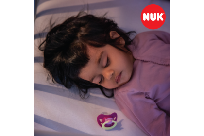 NUK Signature Pink ~ (6-18 Month) Soother Twin Pack
